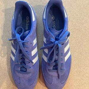 EUC Adidas Samba periwinkle sz 91/2